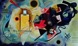 Yellow-Red-Blue, 1925, by Wassily Kandinsky