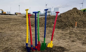 Google is building a vast new data warehouse in Eemshaven, The Netherlands.