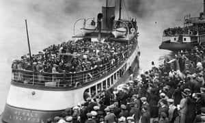 Image result for immigrant ship