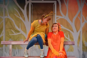 Josie Cerise and Erika Pool in Tutti Frutti's Monday's Child