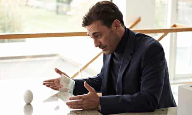 Jon Hamm as Matt in Black Mirror: White Christmas ... razor-ship wit and a very human story
