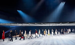 The Christian Dior show in Tokyo.