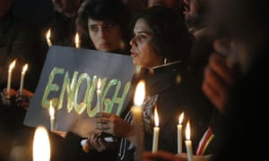 A candle light vigil in Islamabad, for the victims of the school attack in Pesharwar