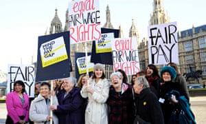 Equal pay photocall