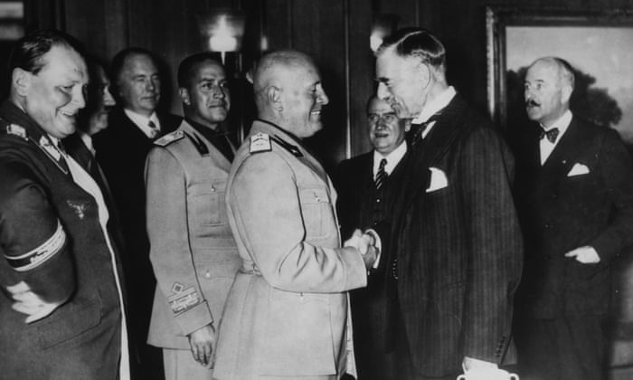 Chamberlain To Hitler Waiting For Commitment To Peace From The
