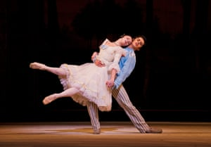 Natalia Osipova (Natalia Petrovna) and Federico Bonelli (Beliaev) in A Month In The Country from Ashton Mixed Bill
