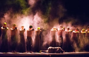 Akram Khan in Dust from Lest We Forget by English National Ballet