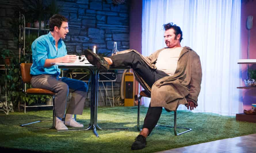 Eugene O'Hare and Alex Ferns in True West at the Tricycle