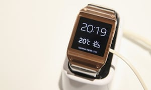 Samsung launched five smartwatches in 2014 alone.