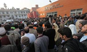 Lady Reading hospital in Peshawar