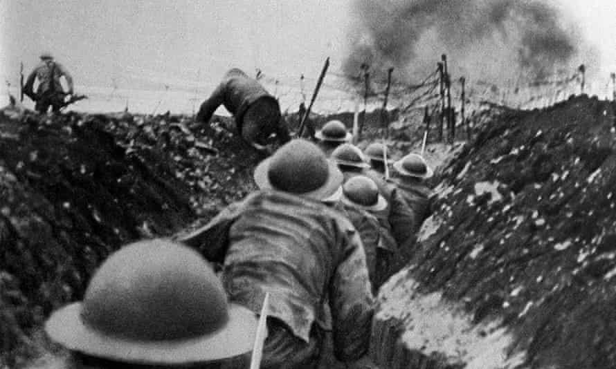 Soldiers during the first world war