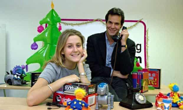 Lastminute.com founders Martha Lane Fox and Brent Hoberman in 2000