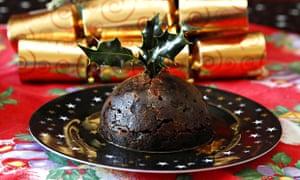 A Lidl Christmas pudding