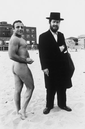 Hassid and Jewish Bodybuilder
