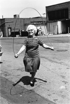 Isabel Croft jumping rope, Brooklyn