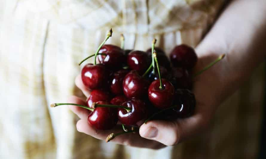 Cherries - in season for a brief time.