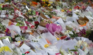 Martin Place floral tributes