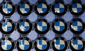 Company logos of BMW.