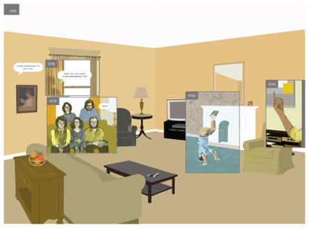 1995 from Richard McGuire's Here.