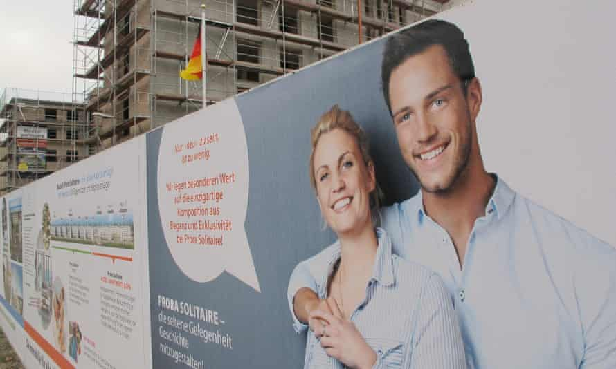 luxury apartments being advertised