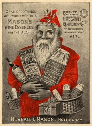 1890: Mason's Wine Essences advert, Newball & Mason.