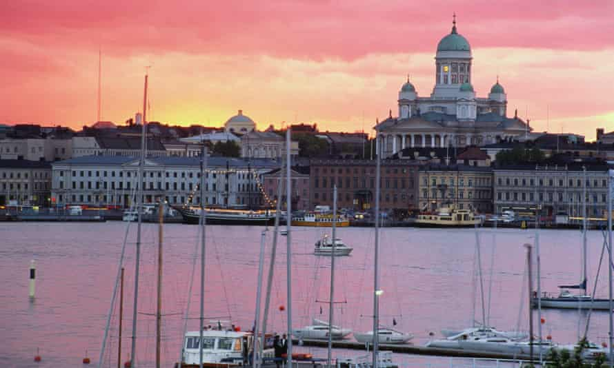 Helsinki South Harbour, Finland