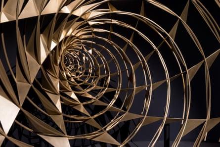 Olafur Eliasson - Contact at Fondation Louis Vuitton, Paris. Olafur Eliasson, Bridge from the future, 2014