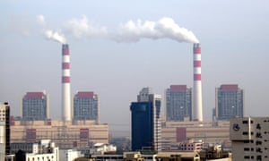 Smoke is seen emitted from chimneys at the Waigaoqiao coal-fired power plant in Pudong, Shanghai, China, 3 December 2008.