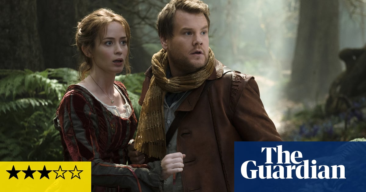 Into the Woods review: trees fall in a forest, making one