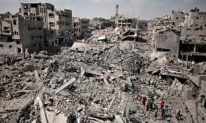 Gaza ruins