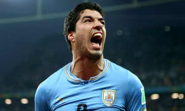 An average audience of 13.9 million viewers watched Uruguay's Luis Suárez sink England with two goals  at the World Cup.