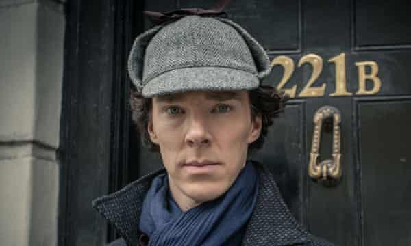 Benedict Cumberbatch's Sherlock was a hit on New Year's Day.