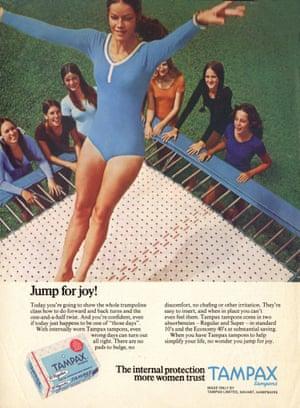 1970s UK Tampax magazine advert.