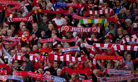 Hillsborough disaster commemoration Anfield