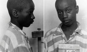 George Stinney appears in an undated police booking photo provided by the South Carolina department of archives and history.