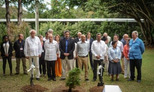 Members of Colombian government, Farc delegation
