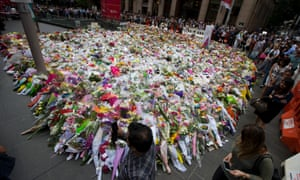 Sydney siege tributes