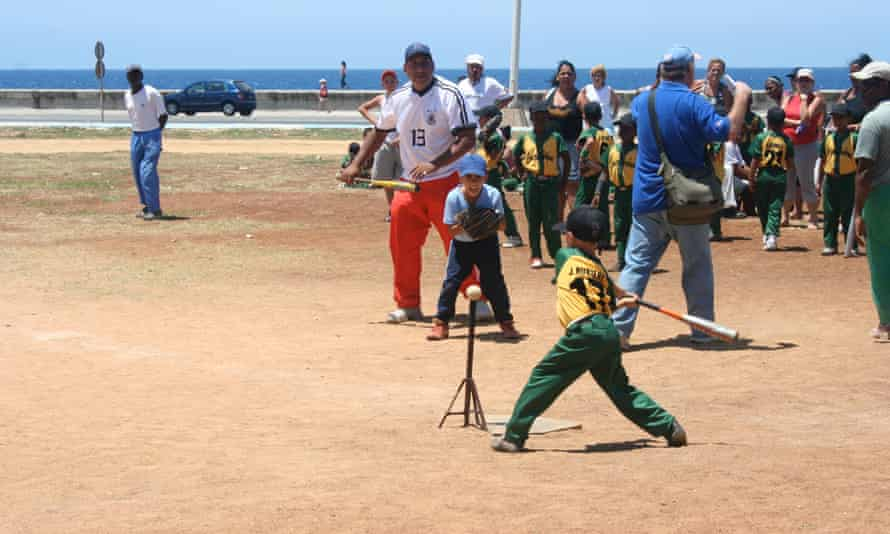 Some 90 miles beyond Havana's famed Malecón lies a more profitable locale for future Cuban baseball players.