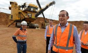 Tony Abbott and coal