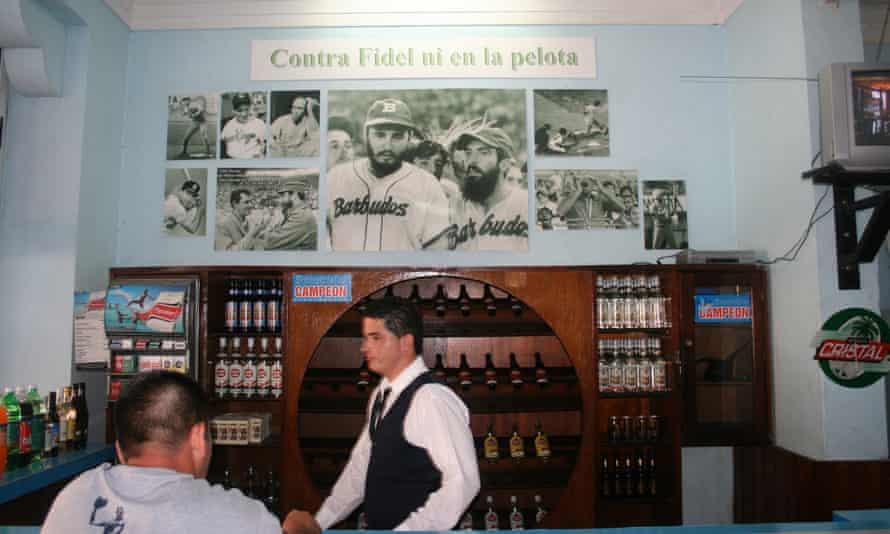 Both baseball and Fidel Castro are omnipresent across Cuba.