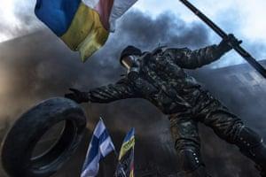 Behind Kiev's Barricades - coverage of the violence in Kiev, Ukraine.
