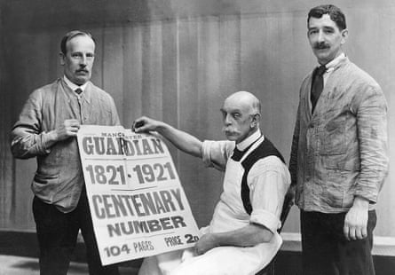 GNM Archive: An advertisement for the Guardian's centenary issue in 1921