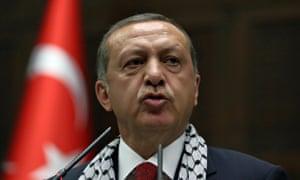 Turkey president Recep Tayyip Erdogan.