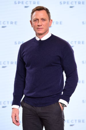 Daniel Craig at the Spectre launch at Pinewood.