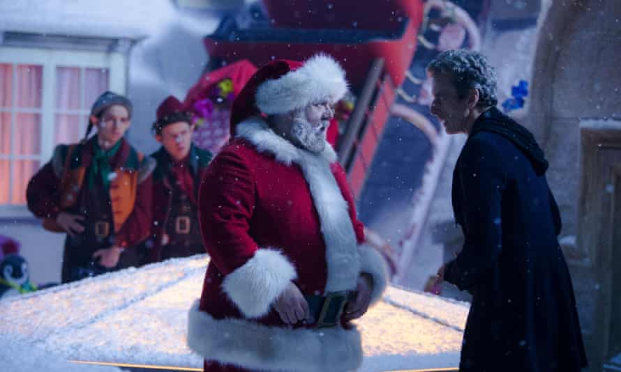 Nick Frost's Santa Claus is a swashbuckling polar pirate.