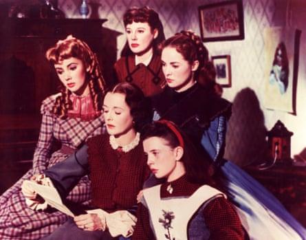 Elizabeth Taylor,  Mary Astor,  June Allyson,  Janet Leigh,  Margaret O'Brien in Little Women.