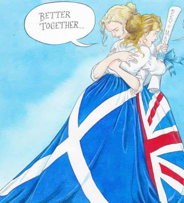 Chris Riddell cartoon for Observer comment, September 2014