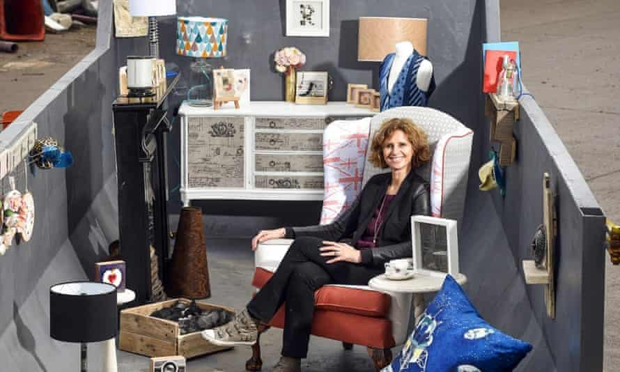 Remade in Britain – a room in a skip.