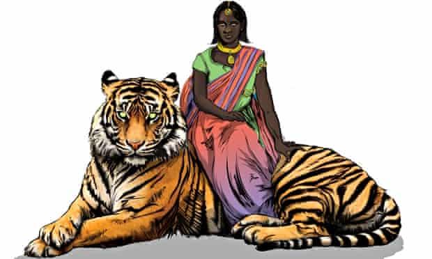 priya's shakti comic book priya tiger