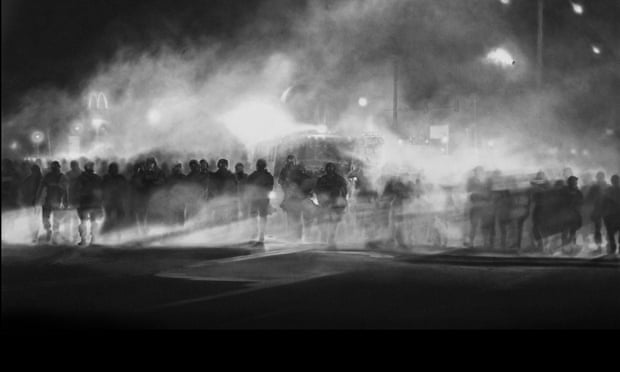 Robert Longo Untitled Ferguson
